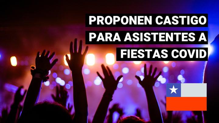 Chile: ministro del Interior propone que asistentes a fiestas COVID cuiden a enfermos