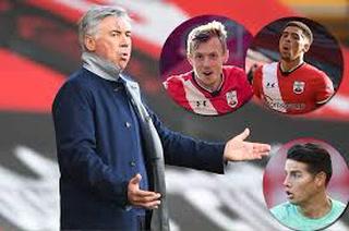 Southampton le quita el invicto y desinfla al Everton de Ancelotti y James por la Premier League