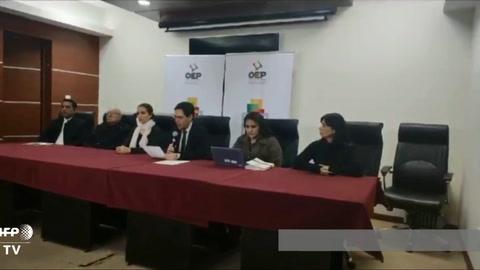 Corte electoral inhabilita candidatura de Morales al Senado de Bolivia