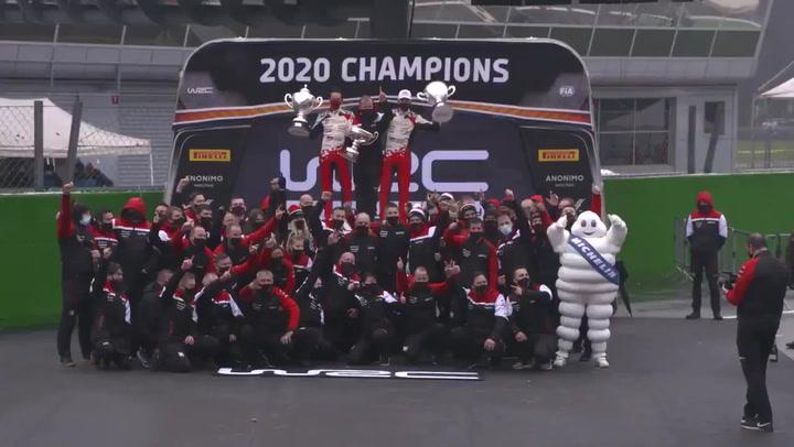Sebastien Ogier se proclama campeón del mundo 2020 tras un Rally Monza de infarto