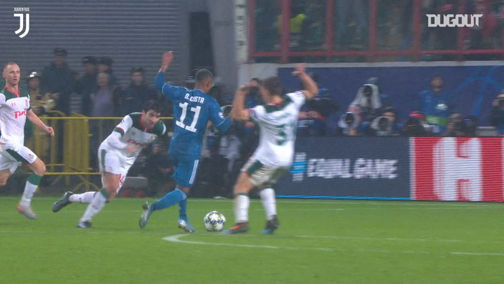 Douglas Costa's last-minute goal vs Lokomotiv Moscow