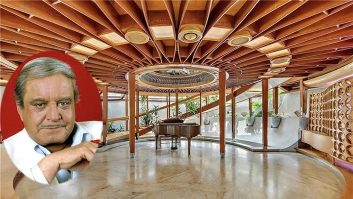 Jackie Gleason's $12M Spaceship Party House Is Out of This World