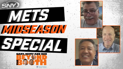 Gary, Keith and Ron talk Mets in a special midseason chat