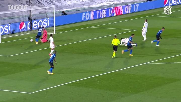 أفضل التمريرات الحاسمة: نيكولو باريلا إلى لاوتارو مارتينيز أمام ريال مدريد