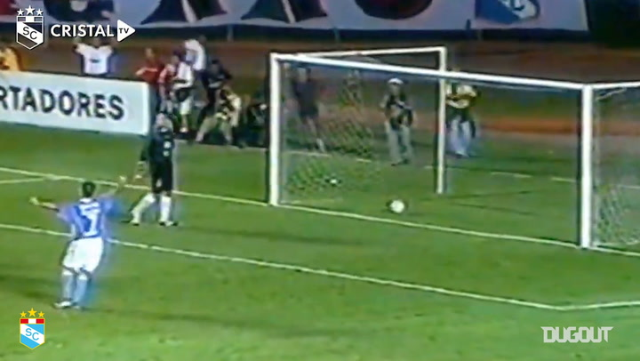 Sérgio Júnior's bicycle kick goal vs Coritiba in the 2004 Libertadores