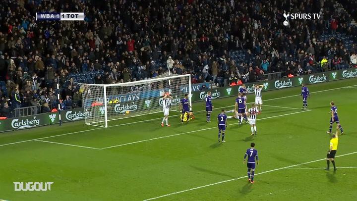 Hugo Lloris produces incredible save to deny Jonas Olsson