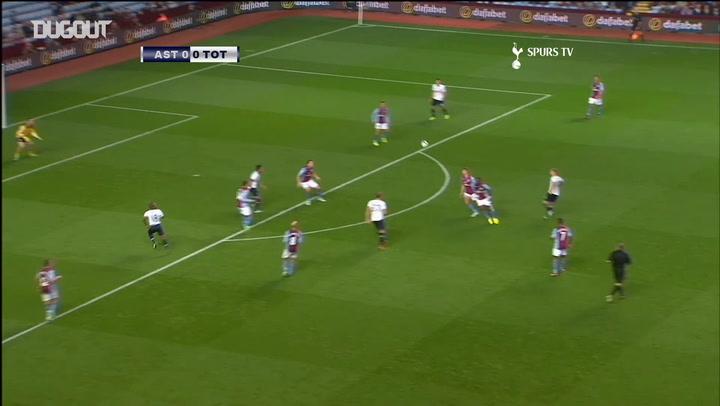 Jermain Defoe caps Spurs team-goal against Aston Villa