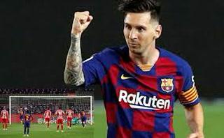 Así fue el gol 700 de Messi de su carera ante el Atlético de Madrid en el Camp Nou