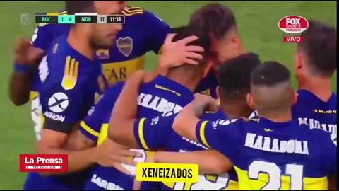 El desgarrador llanto de Dalma, hija de Maradona, tras dedicación de gol de Boca Juniors