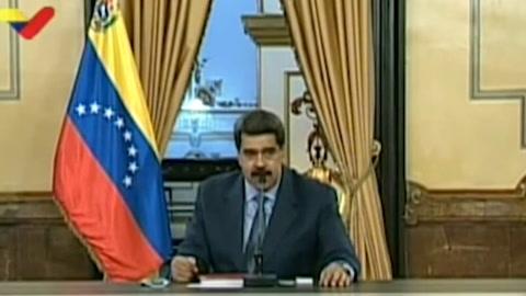 Maduro tacha de