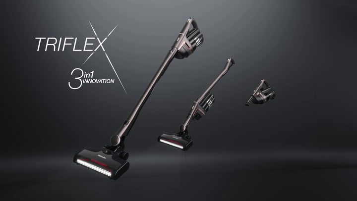 Preview image of Miele Triflex HX1 Cordless Stick Vacuum Cleaner -  video