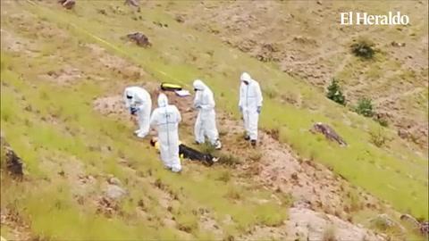 En cuentra a una persona muerta en el sector de los Pinos