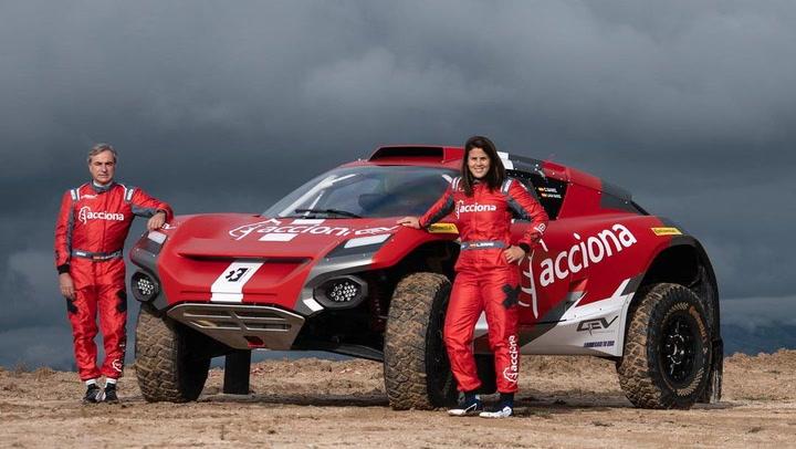 Carlos Sainz y Laia Sanz competirán juntos en la categoría eléctrica Extreme E