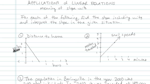 Applications of Linear Equations - Problem 4