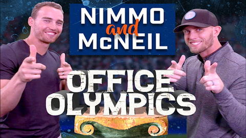 Game On: Nimmo and McNeil compete in Office Olympics!