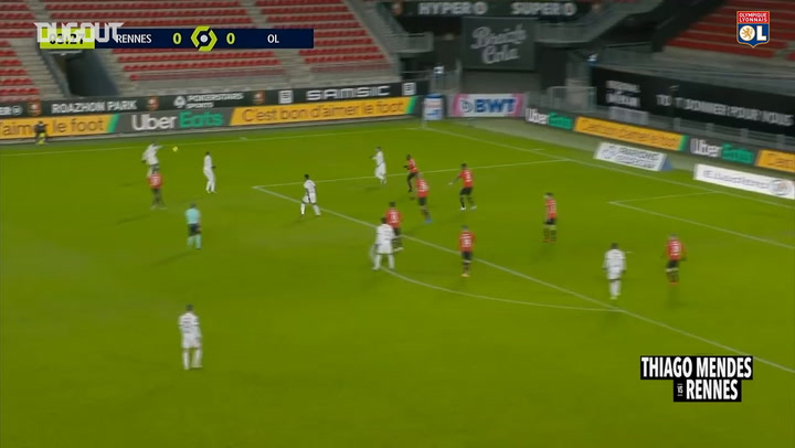 Best of Thiago Mendes vs Rennes