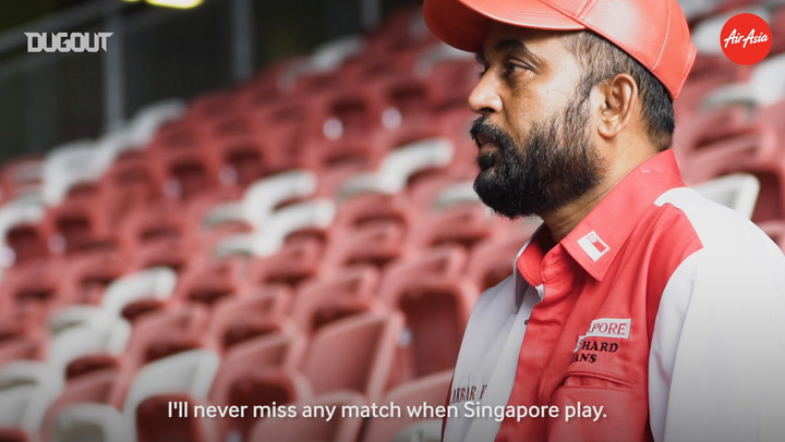 Feeling The Colour: Singapore Die-Hard Fan