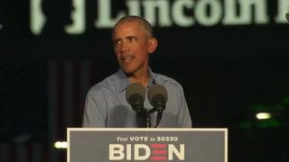 Obama llama a olvidar los sondeos y votar en masa por Biden en elecciones de EEUU