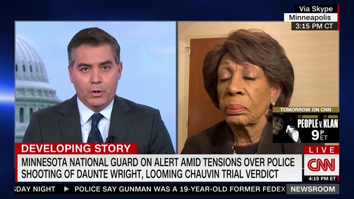 Maxine Waters on Rashida Tlaib's 'No More Policing' Remarks: 'She Spoke Her Mind --- I Love Her for It'