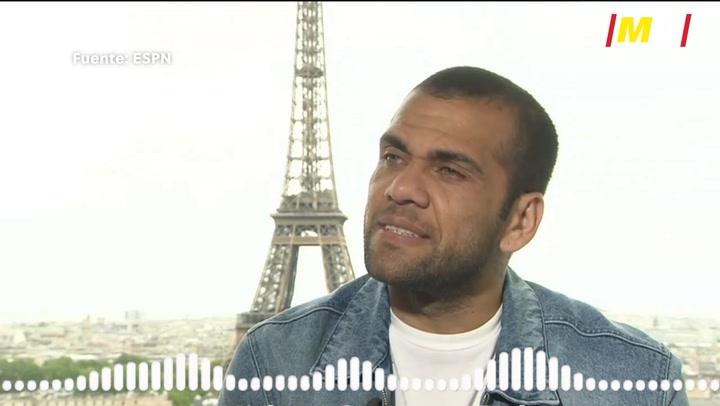Dani Alves habla sobre su futuro en el PSG