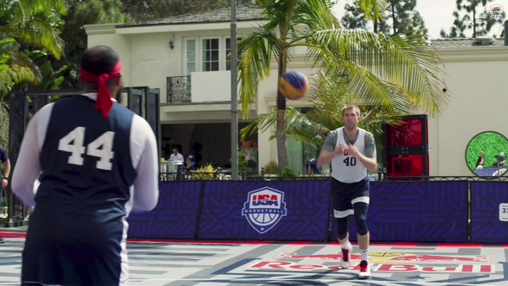 USA 3x3 Men's National Team Starts Camp At Red Bull 3X House