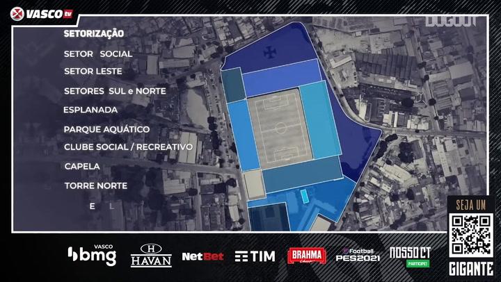 São Januário's renovation project