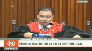 Justicia venezolana declara nula cúpula parlamentaria
