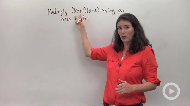 Multiplying Polynomials using Area Models - Problem 1