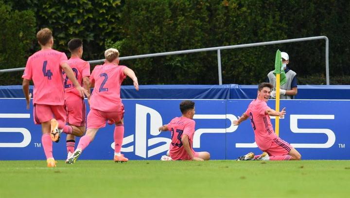 1-3. El Madrid de Raúl lo borda y accede a los cuartos de la Youth League