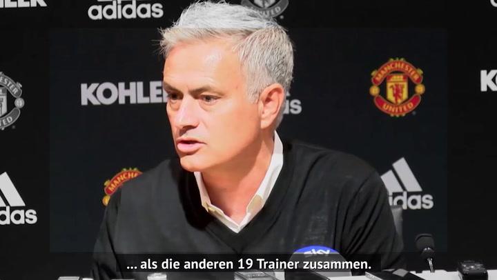 Spurs feuern Mourinho: Seine besten PK-Momente