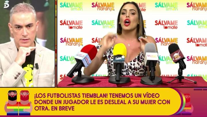 Amor Romeira desvela que desde que se hizo famosa, más de 100 futbolistas han contactado con ella