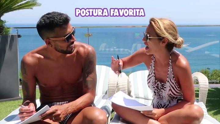 Tamara Gorro y Ezequiel Garay hablan sobre su postura favorita