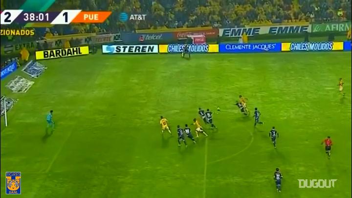 Eduardo Vargas' brace vs Puebla