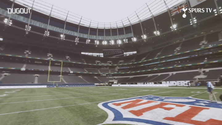 The Tottenham Hotspur Stadium hosts first NFL matches