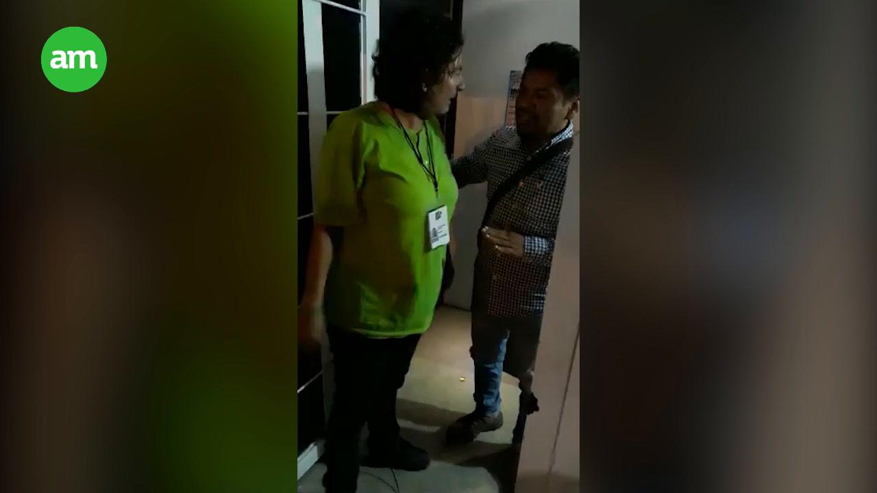 Video: Regidora de Silao por el Partido Verde agrede a personal de seguridad municipal