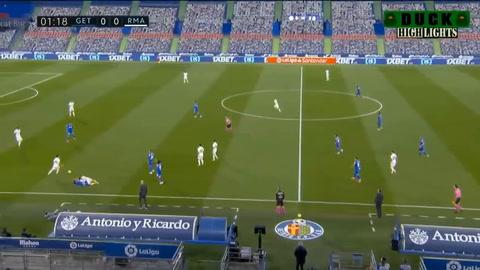 Getafe 0-0 Real Madrid (Liga Española)