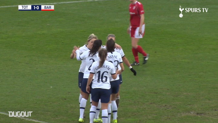 Tottenham Hotspur Women's best 2019-20 FA Cup goals so far