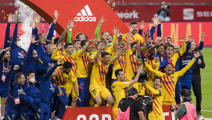 El Barça, campeón de la Copa del Rey 2020-2021