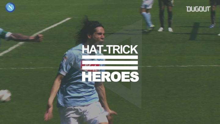 Hat-Trick Heroes: Edinson Cavani vs Lazio