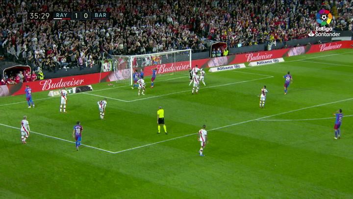 Dest tuvo el gol del Barcelona