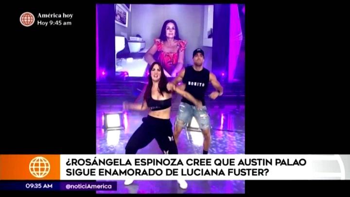 """Rosángela Espinoza aclara """"cercanía"""" con Austin Palao"""