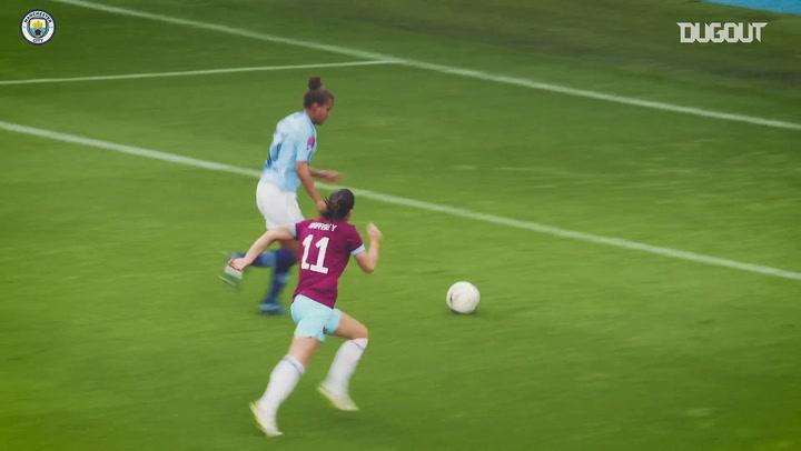 Melhores gols da equipe feminina do Manchester City contra o West Ham