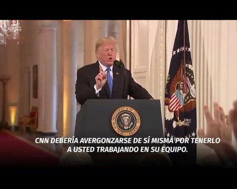 Pelea con CNN