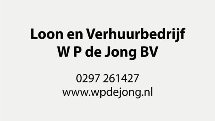 Loon- & Verhuurbedrijf W P de Jong BV