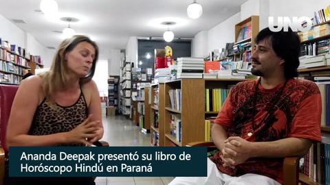 Deepak presentó en Paraná el Horóscopo Hindú 2018