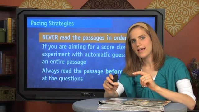 ACT Reading Tips