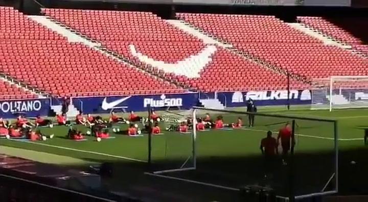 Koke intentará estar listo en la Supercopa de España