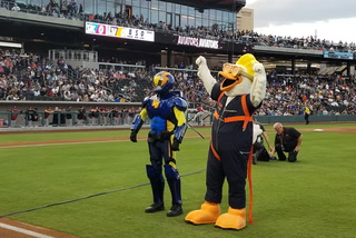 Introducing the Las Vegas Aviators' Mascots