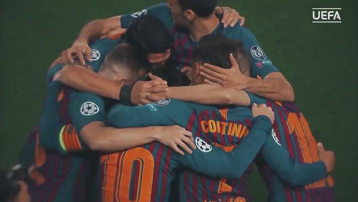 Messi, elegido Mejor Delantero de la pasada Champions