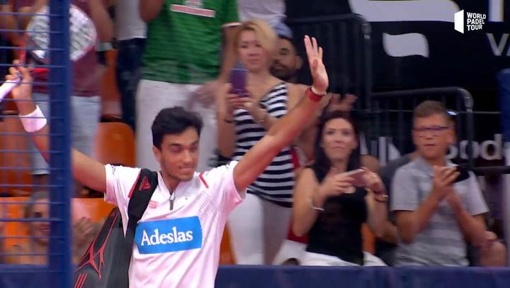 Resumen Semifinal Paquito/Lebrón VS Galán/Lima Estrella Damm Valencia Open 2019